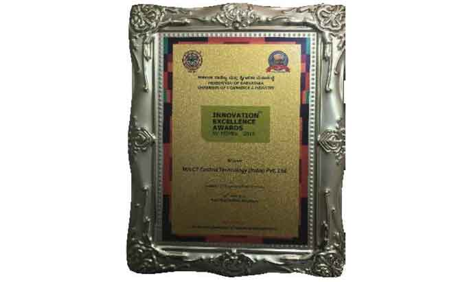 Innovation Excellence Award for MSMEs by FKCCI